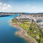 Work begins on Waterfront Park