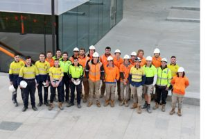 LIVING CITY project proves a training boon for apprentice tradespeople